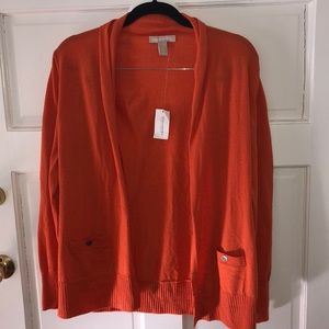 NWT Banana Republic Sweater Orange Size Medium